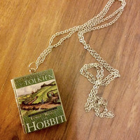 The Hobbit Pendant - Book Locket, Tolkien