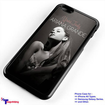 Ariana Grande Beauty Sexy - Personalized iPhone 7 Case, iPhone 6/6S Plus, 5 5S SE, 7S Plus, Samsung Galaxy S5 S6 S7 S8 Case, and Other