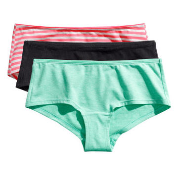 H&M 3-pack Cotton Hipster Briefs $9.95