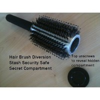 UNISHOW® Hair Brush Diversion Safe - Assorted Colors