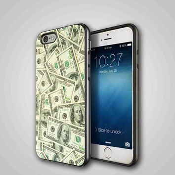 Hundred Dollar Bills, iPhone 4/4S, 5/5S, 5C Series Hard Plastic Case
