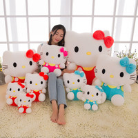 Hello Kitty cat kids toys pokemon stuffed toys dolls plush toys peppa anime figure18cm25cm 2 sizes three colors can be selected