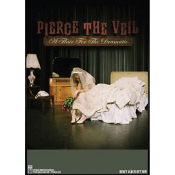 Pierce The Veil Concert Promo Poster