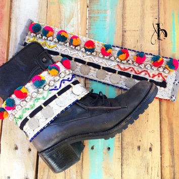 Uki Tribal Boot Belt (Pair)