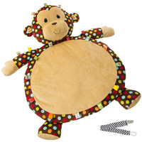 Mary Meyer 39317 Dazzle Dots Taggies Monkey Baby Mat with Pacifier Clip