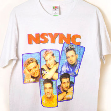 NSYNC  On Tour Tee by NoQuarterClothing on Etsy