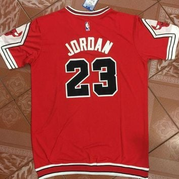 Basketball Jersey Michael Jordan #23 Red Bulls Chicago t-shirt