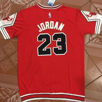 5999a873024 Basketball Jersey Michael Jordan  23 Red Bulls Chicago t-shirt