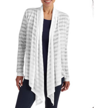 Walmart: No Boundaries Juniors Waterfall Cardigan with Applique