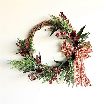 Santa Barbara Holiday Wreath