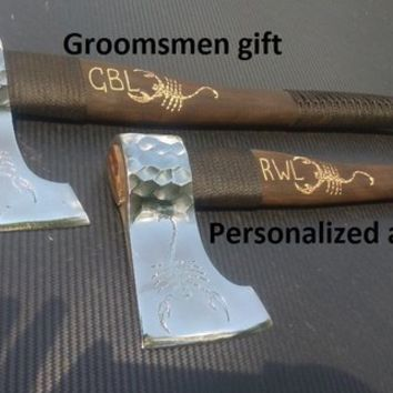 Groomsmen gift, wedding gift, groomsman gift, gift for groomsmen, gift for groom, wedding gifts,wedding axe, mens gift,unique groomsmen gift