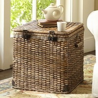 DAYTRIP LIDDED CUBE BASKET