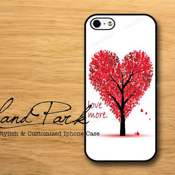 Love Tree iPhone 5 Case, iPhone Case, Case for iPhone 5, iPhone 5 Cover, iPhone Hard Case