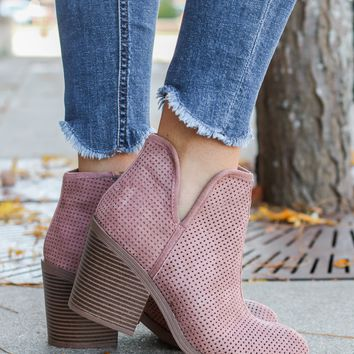 After Market Booties - Blush