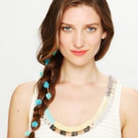 Free People Flower Suede Tie at Free People Clothing Boutique