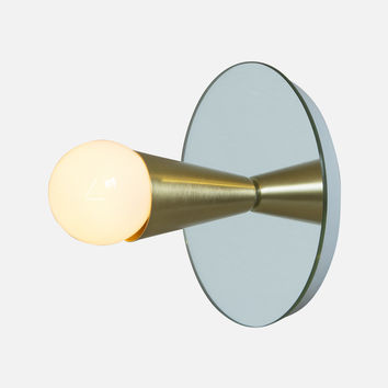 Echo 1 Sconce - Brass