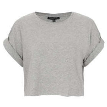 Tall Roll Back Crop Tee - New In This Week  - New In