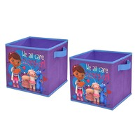 Disney Doc McStuffins 2-pk. Collapsible Storage Cubes