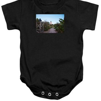 Path To Jupiter Lighthouse - Baby Onesuit
