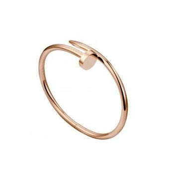 BeadyBoutique Love Nail Bracelet - Rose Gold