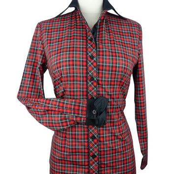 CR Tradition Mad for Plaid Western Shirt
