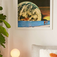 Mariano Peccinetti Distant Beach Print - Urban Outfitters