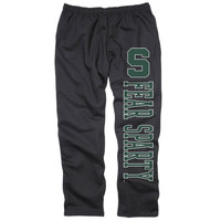 Michigan State Spartans Back Home Sweatpants – Black