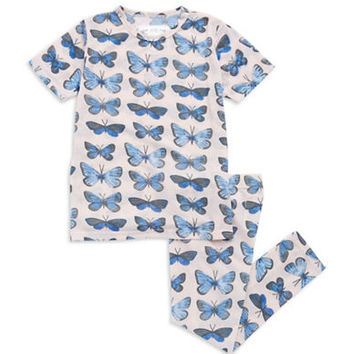 Aegean Apparel Two Piece Butterfly PJs
