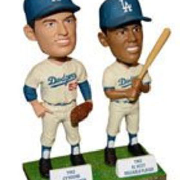 Orel Hershiser and Don Drysdale Maury Wills DUAL Bobblehead