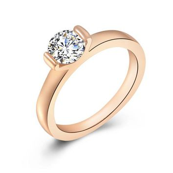 Simple Love Promise Ring