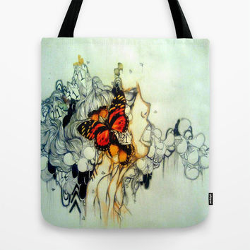 Where the butterflies lay Tote Bag by Princess M