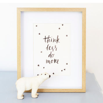 Whimsical Handwritten Quote Prints