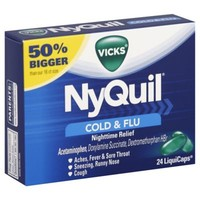 Vicks NyQuil 24-Count Liquicaps