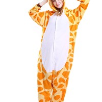 Unisex Adult Animal Cosplay Pajamas kigurumi Sleepwear Onesuits Sleepwear Set