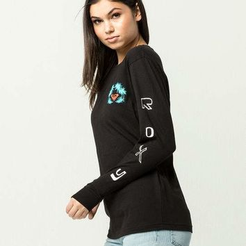 ROXY Radical Checkers Womens Tee