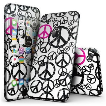 Peace Collage - 4-Piece Skin Kit for the iPhone 7 or 7 Plus