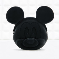 Silicon Mickey Mouse Purse in Black - Urban Outfitters