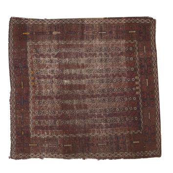 4.5x4.5 Antique Belouch Square Rug