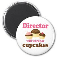 Director Will Work For Cupcakes