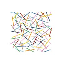 Kess InHouse Project M Sprinkles Placemat, 18 by 13-Inch