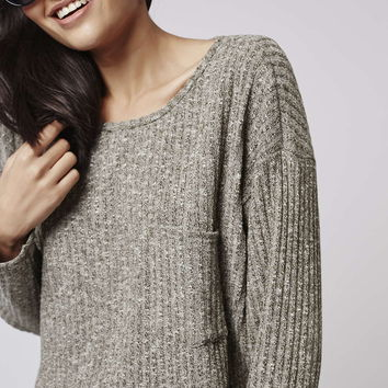 Slouchy Pocket Top - New In This Week - New In