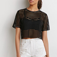 Grid Cutout Top