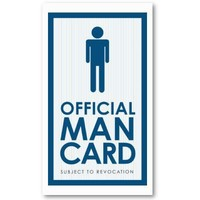 Official Man Card Business Card Templates from Zazzle.com