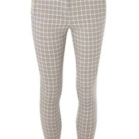 Amber Check Bengaline Trousers - View All New In - New In