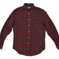 Gitman Vintage Red Multi Brushed Flannel