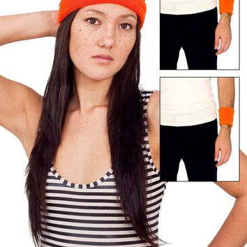 l5373pac - Unisex Flex Terry Headband & Wristband (3-Pack)