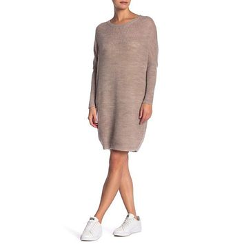 Solutions Women's Dolman Sleeve Sweater Dress