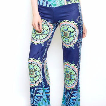 Floral Classic Palazzo Pants