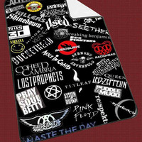 Rock Music Band collage d94fa4e9-36ee-4b2b-9185-435146bf0239 for Kids Blanket, Fleece Blanket Cute and Awesome Blanket for your bedding, Blanket fleece*NS*