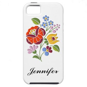 Kalocsa Embroidery - Hungarian Folk Art iPhone 5 Cases from Zazzle.com